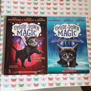 Upside Down Magic Book Two And Three